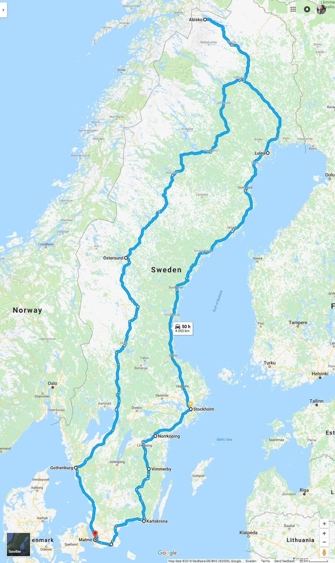gro e schweden rundreise von s d nach nord visit sweden. Black Bedroom Furniture Sets. Home Design Ideas
