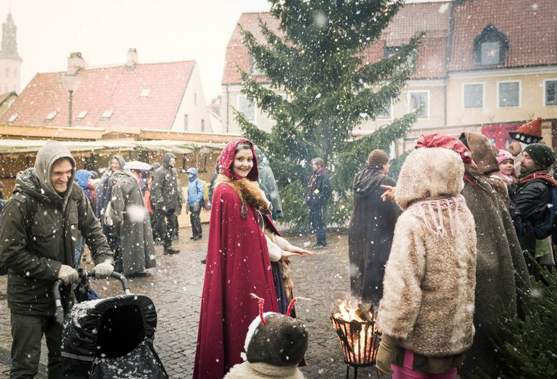 Mittelalterliche Weihnachten in Visby