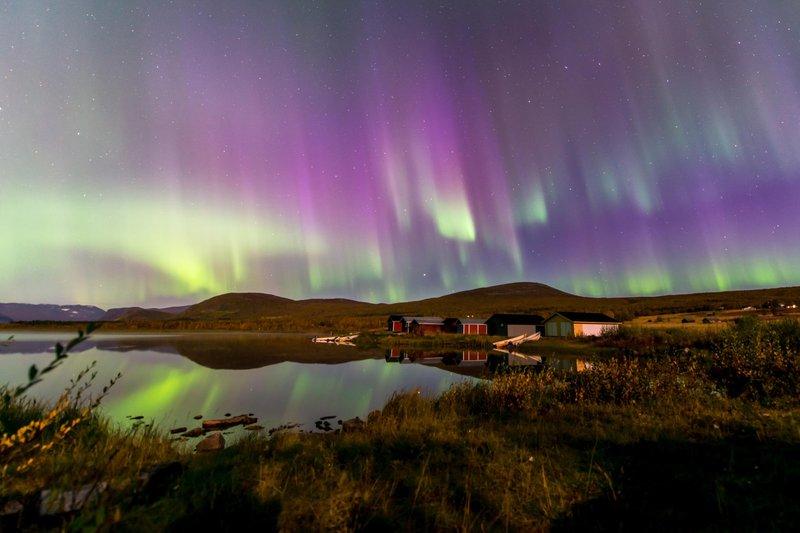 Faszinierende Nordlichter