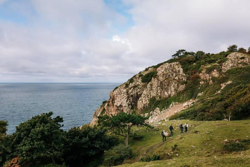 Wandern auf dem Kullaberg