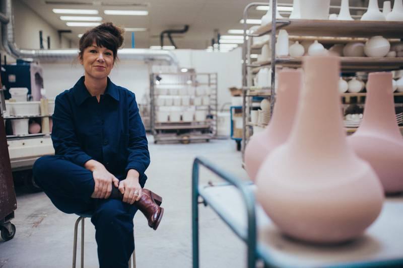 Designerin Anna Elzer Oscarson