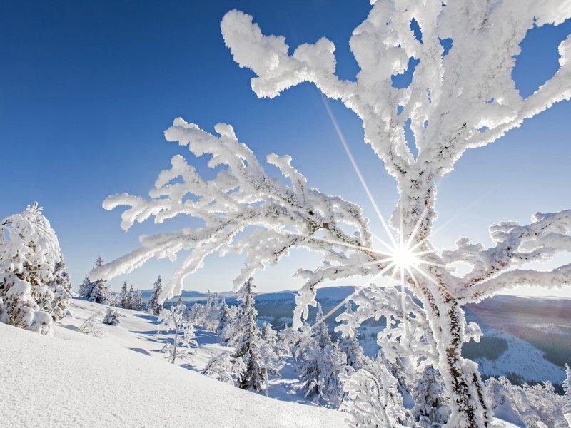 L'hiver en Dalécarlie