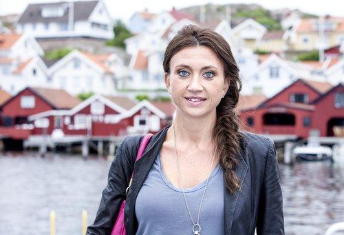 Camilla Läckberg in Fjällbacka, Eestschweden