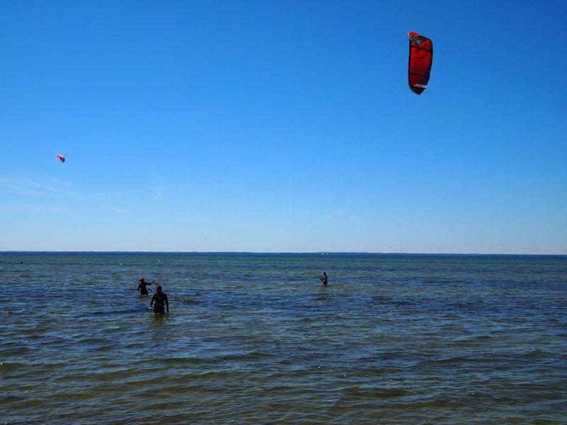 Kitesurfing in Öland