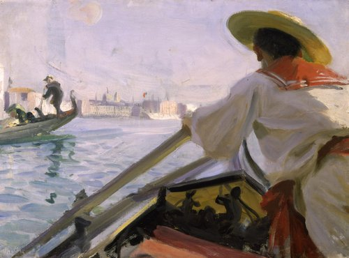 'I min Gondol' by Anders Zorn, at Zornmuseet in Dalarna