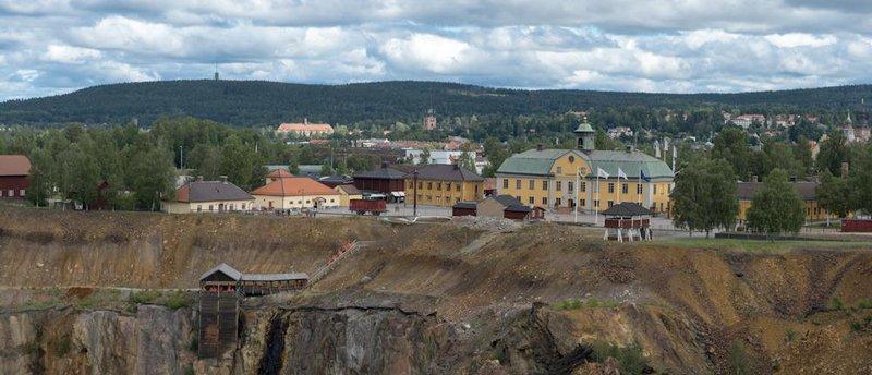 Falu Gruva, Dalarna