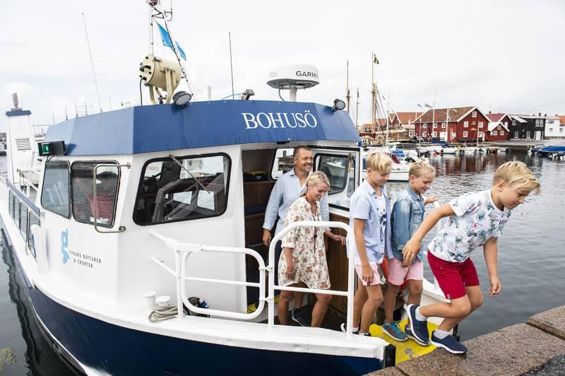 Bootsfahrt in Bohuslän