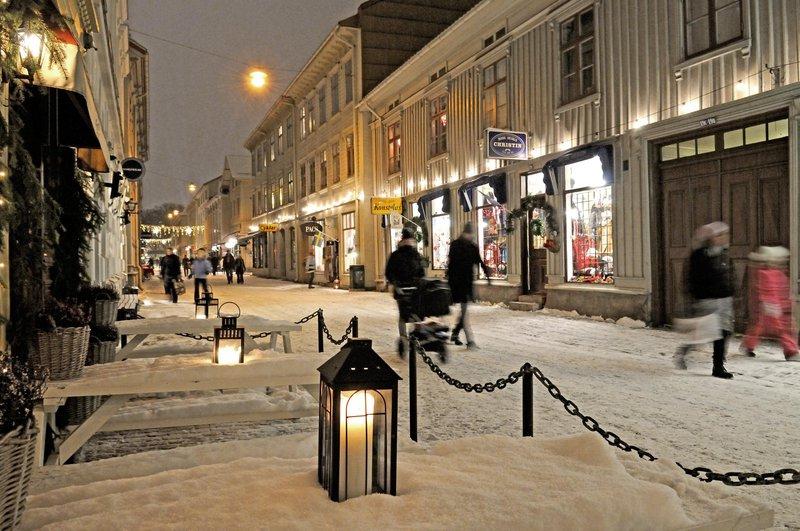 quartier de Haga à Göteborg