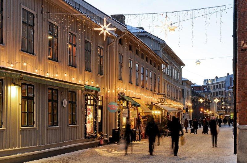 El barrio de Haga en Gotemburgo