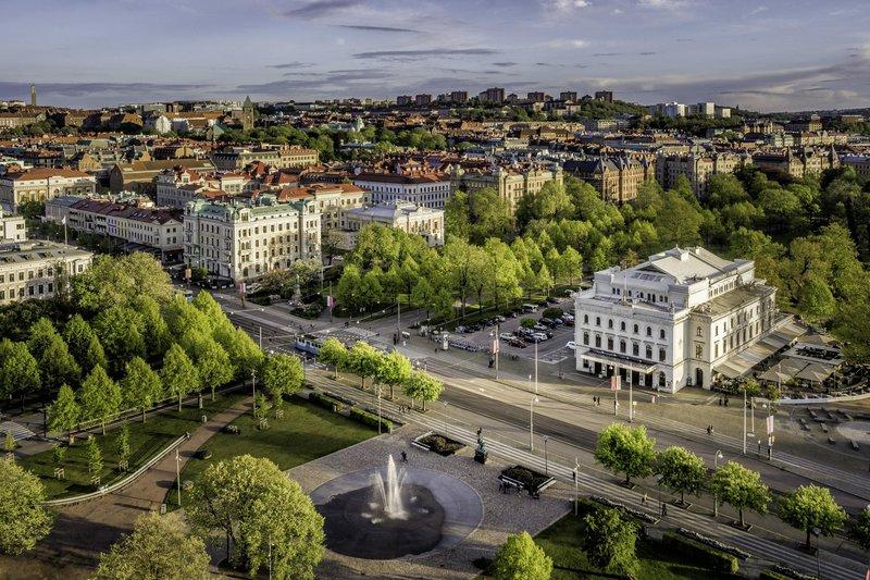 Parque Kungsparken en Gotemburgo