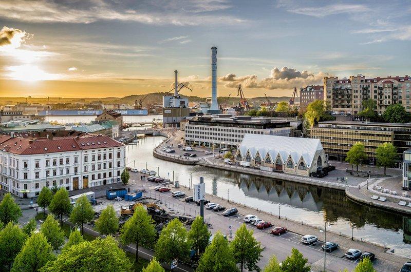 El mercado del pescado de Gotemburgo