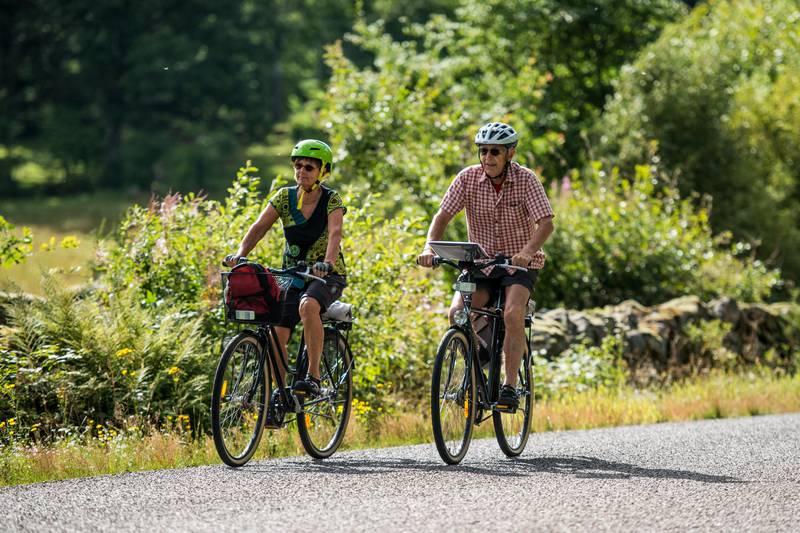 Fahrrad fahren in Småland