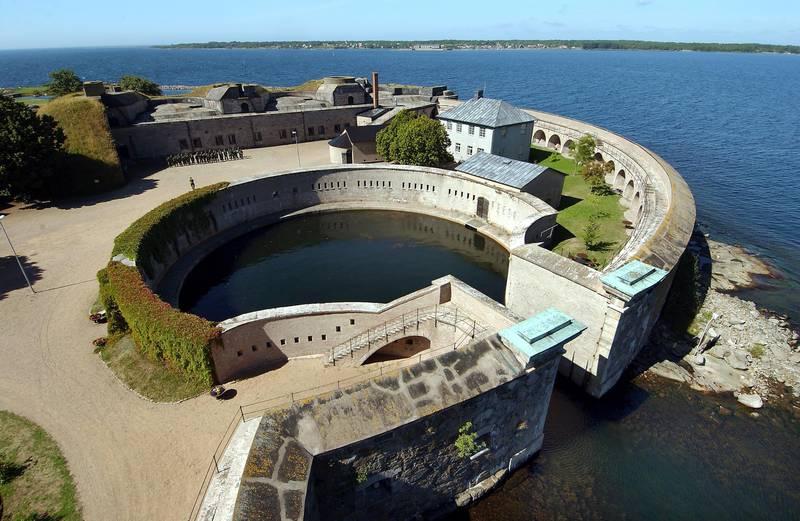 Kungsholmen Fortress in Karlskrona, Blekinge