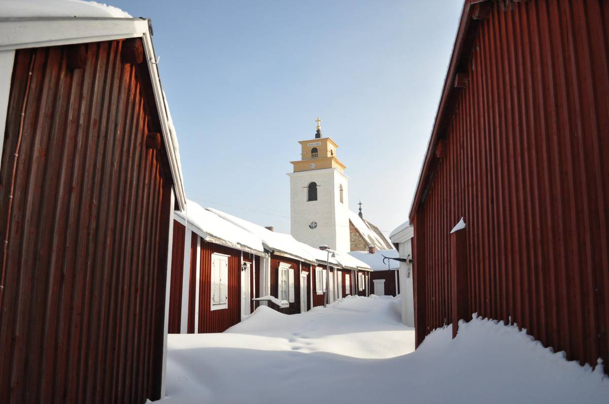 Travel Sweden: Gammelstad Church Village charms with its 15th-century stone church, medieval streets, ...