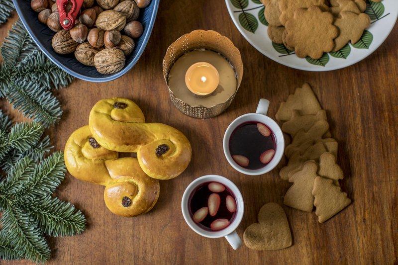 Glögg & gâteau au gingembre