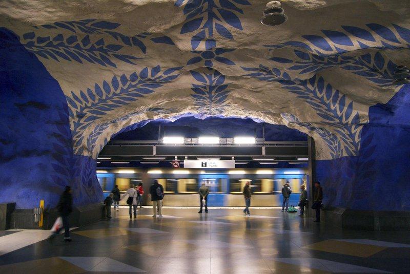 Stockholm Metro art