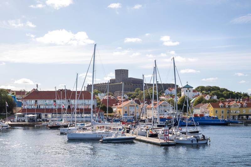 Marstrand in West Sweden