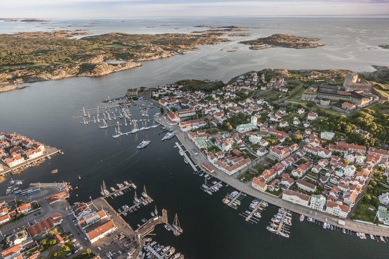 Marstrand, un pueblecito en la costa oeste de Suecia