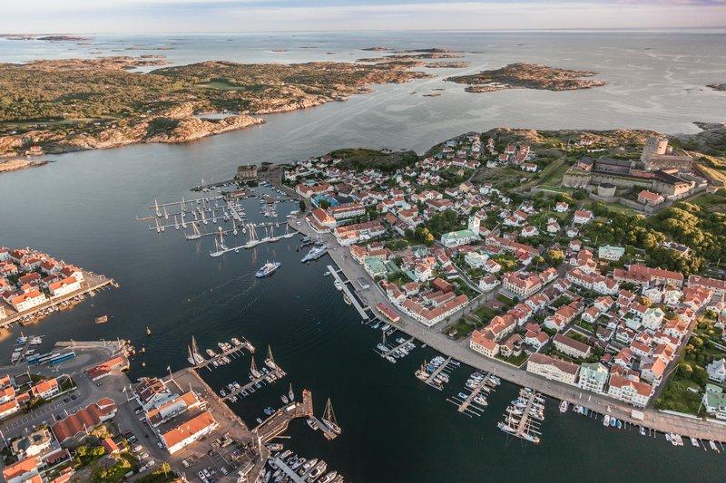 Costa oeste de Suecia