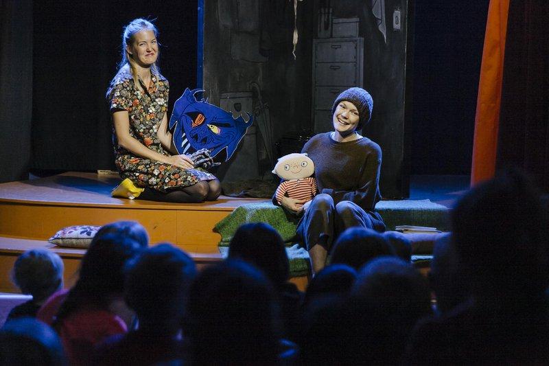 Teaterforestilling på Alfons Åbergs Kulturhus, Göteborg