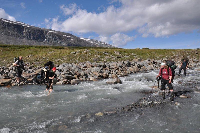 Hiking in Norrbotten