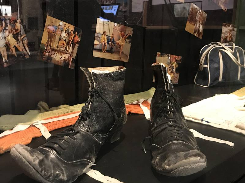 Original boots of Pippi Longstocking