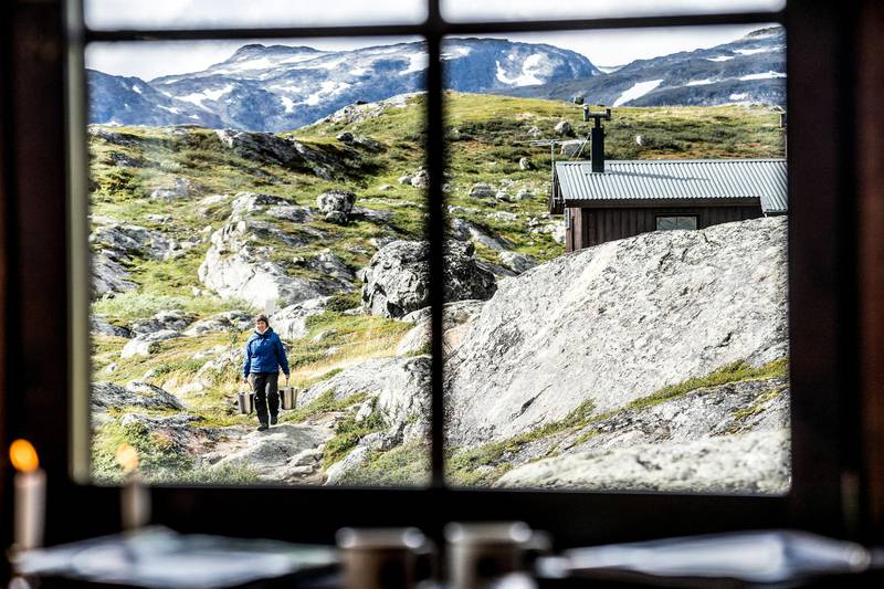 Mountain huts of the King's Trail, Swedish Lapland