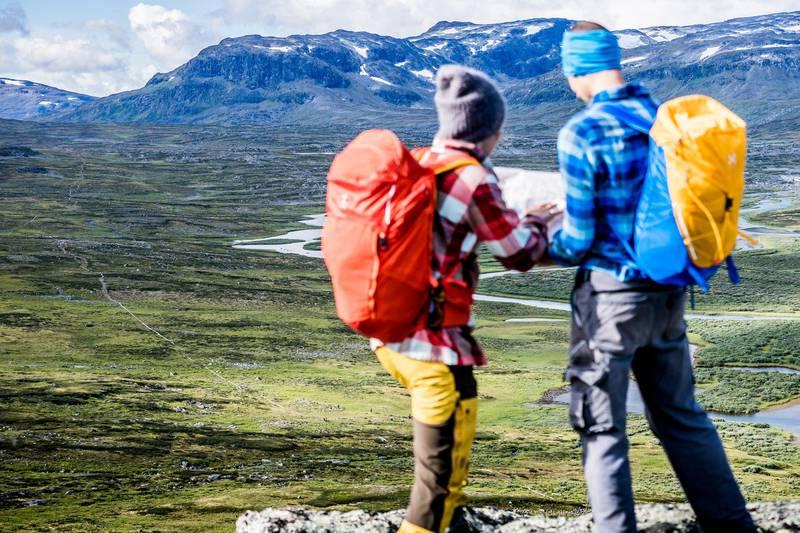 Den Königspfad wandern, Schwedisch Lappland