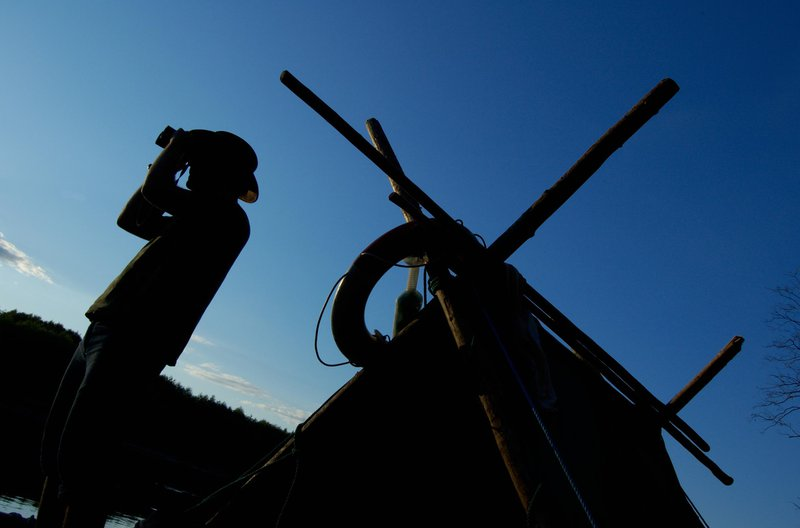 Rafting en balsa de troncos