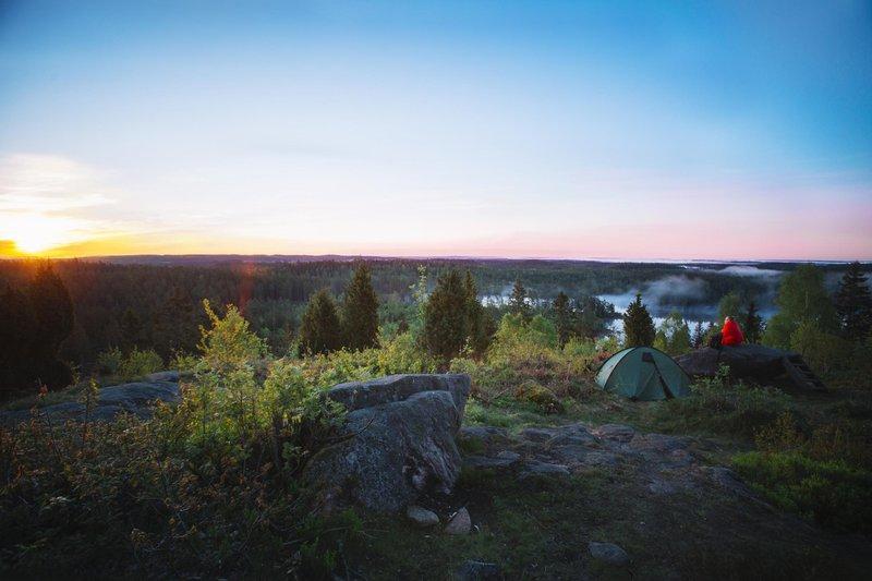 Camping en Småland