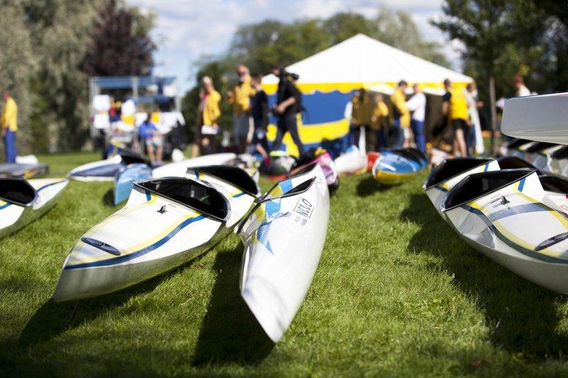 Smålands Turism, Rocksjön, kayak, smålandsbilder.se
