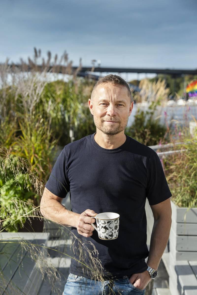 Arto Winter, owner of Mälarpaviljongen