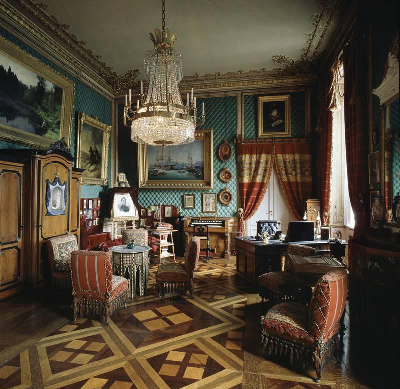 Writing room of Oskar II