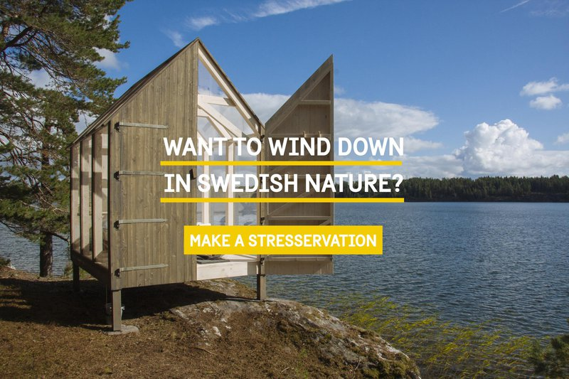 Want to wind down in Swedish nature?