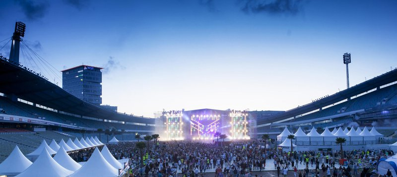 Summerburst music festival, Gothenburg