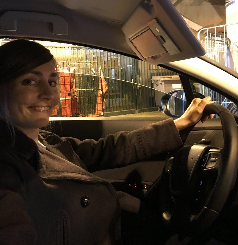 Marilyne Didier - die Taxifahrerin. Foto: privat.