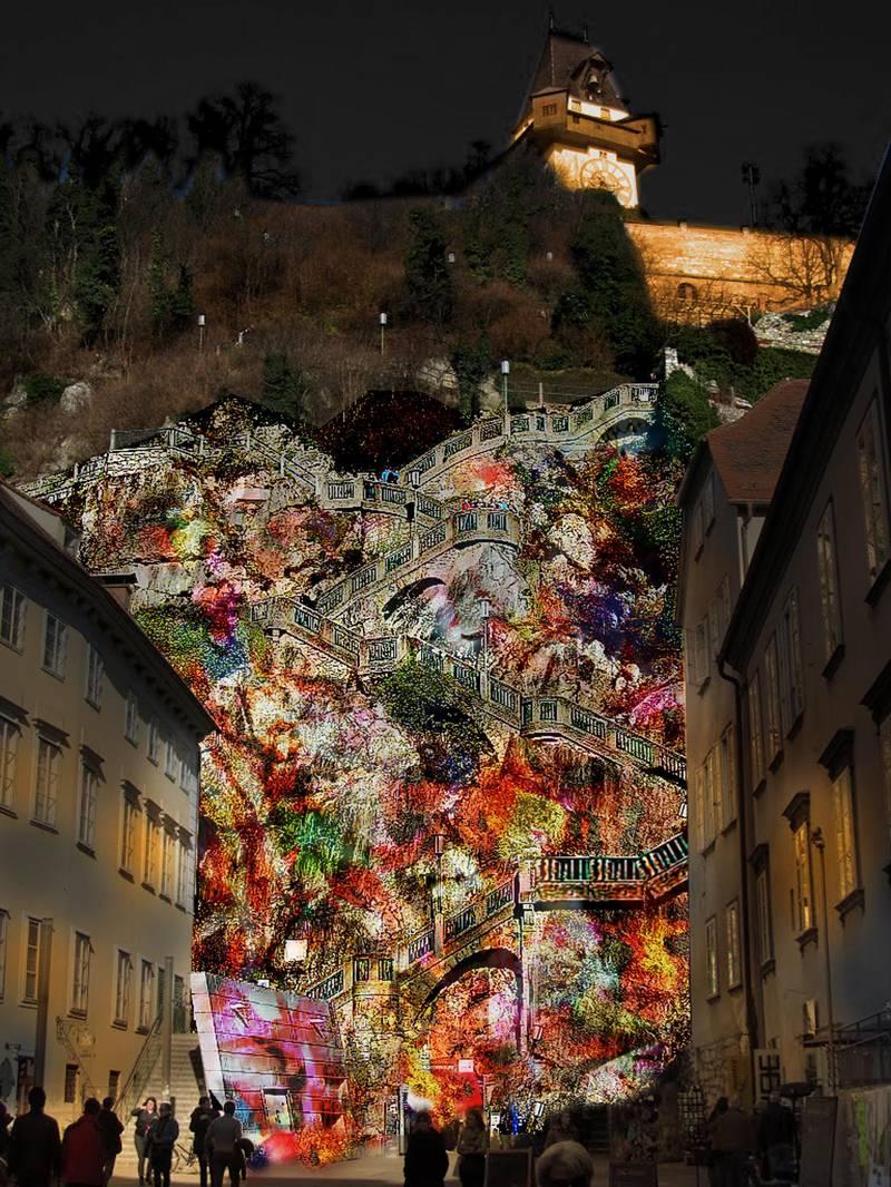 Die Künstlerin Teresa Mar aus Wien nimmt am Smögen Light Festival 2018 teil