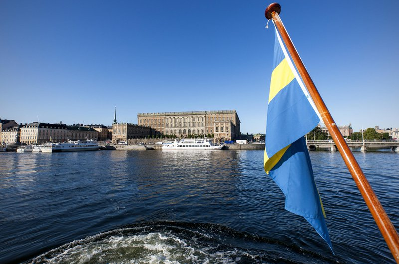 Stockholm from the water