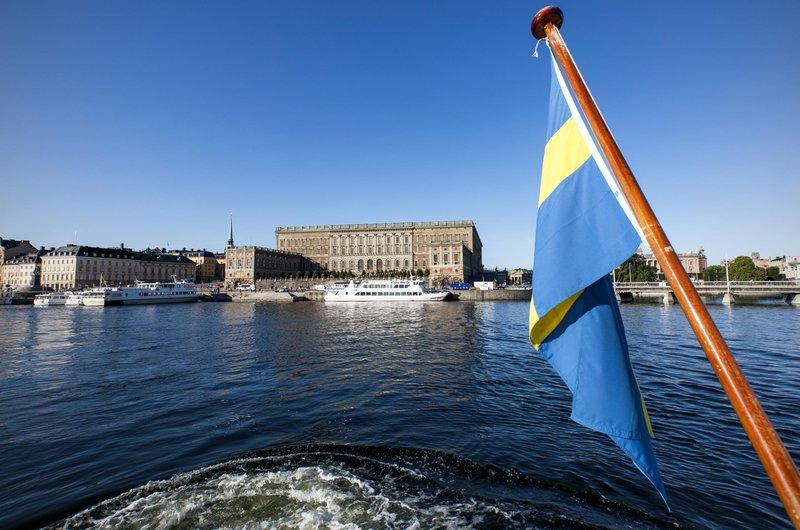 Stockholm entourée d'eau