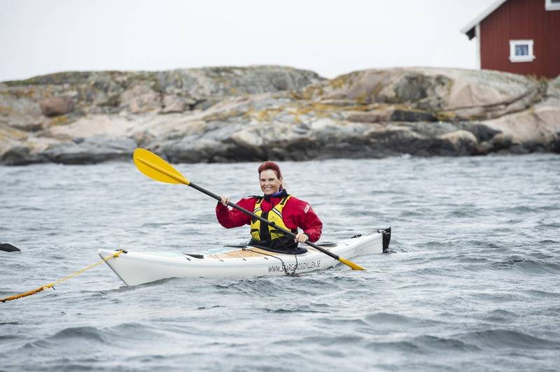 Kayaking in West Sweden