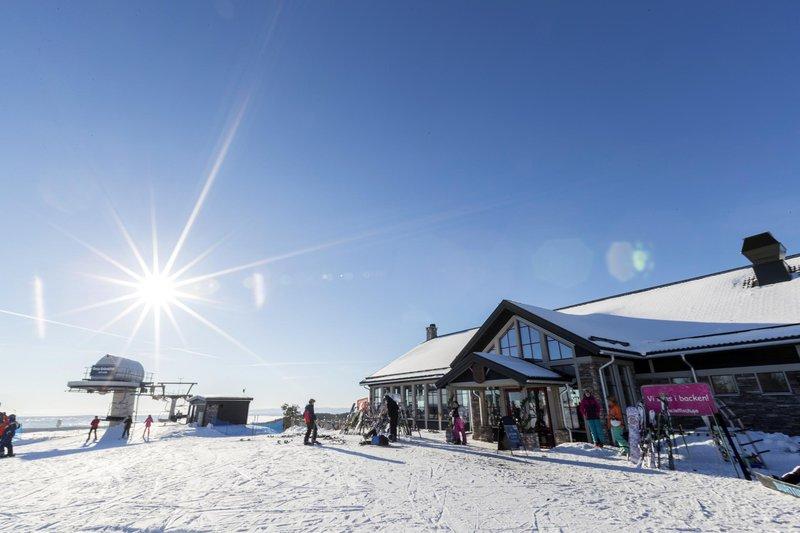 Enjoy wintertime in Orsa Grönklitt in Dalarna