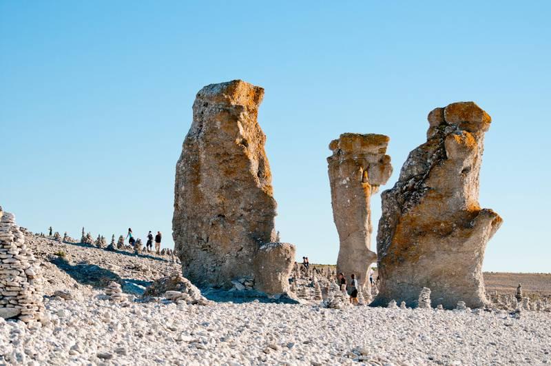 Limestone monoliths