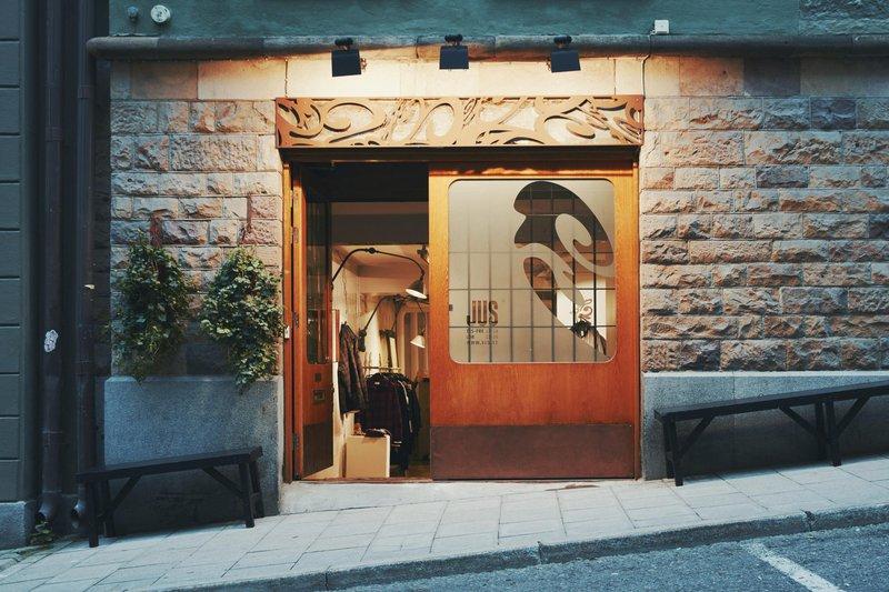 Boutique Jus rue Brunnsgatan, à Stockholm