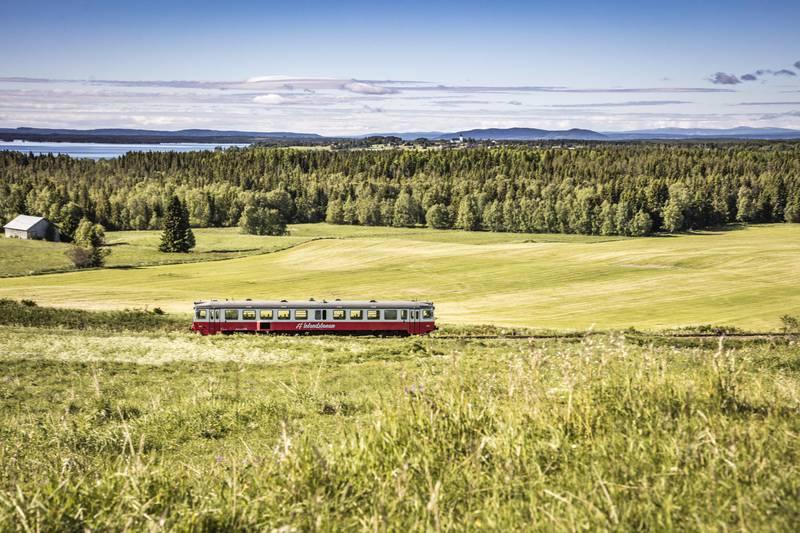 Inlandsbanan train