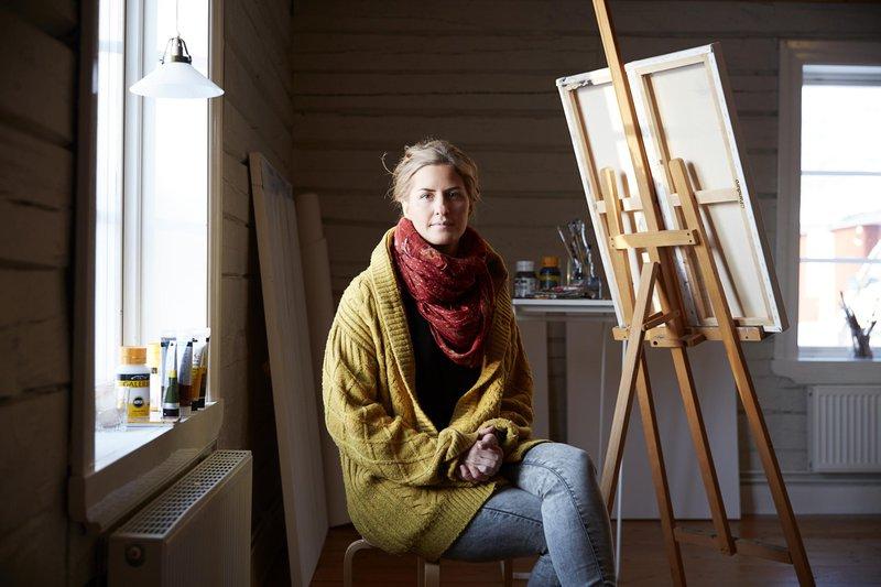 Luleå-based artist Annica Waara