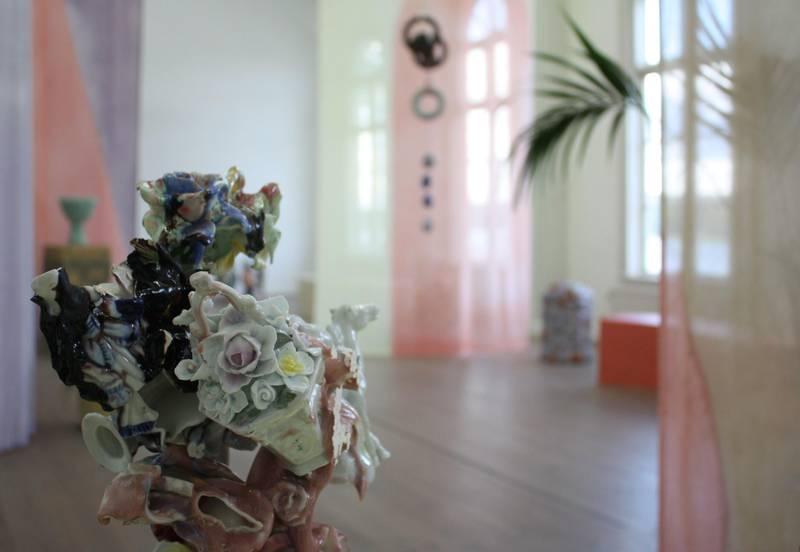 Art exhibition at Gustavsbergs Konsthall, Stockholm