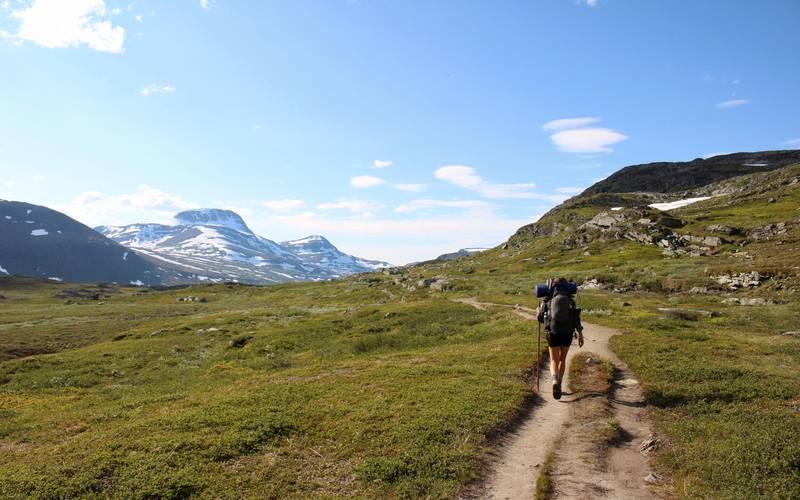 Wandern auf den Kebnekaise, Schwedisch Lappland