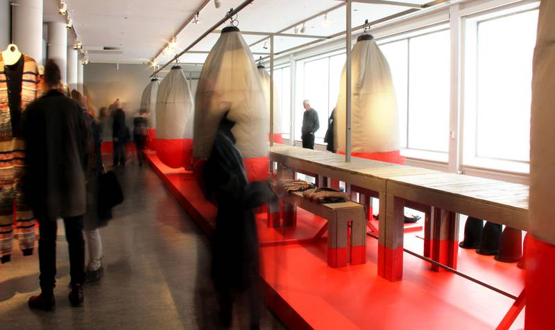 Fashion exhibition at Röhsska Museum, Gothenburg