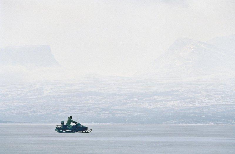 Motoneige en Laponie suédoise
