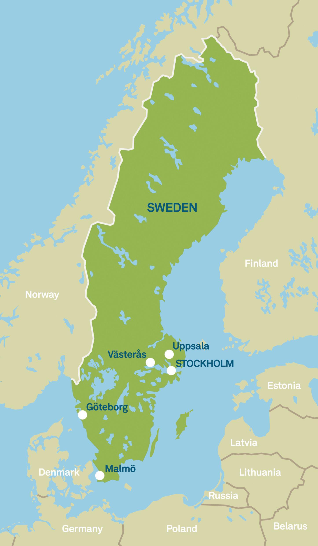 Karte Schweden Regionen.Das Herz Von Skandinavien Visit Sweden